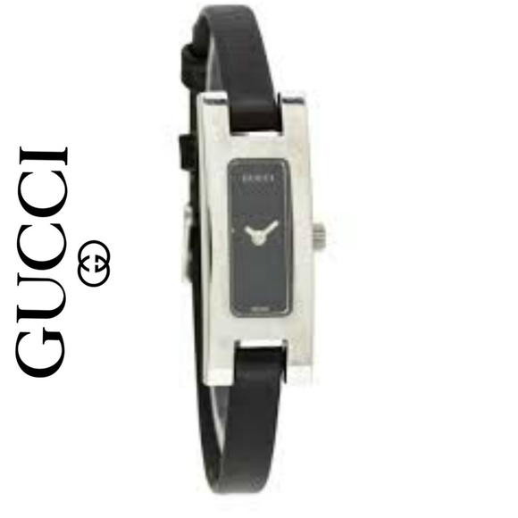 5d00ba8762a Gucci Accessories - Authentic Gucci Swiss Made 3900L Leather Watch